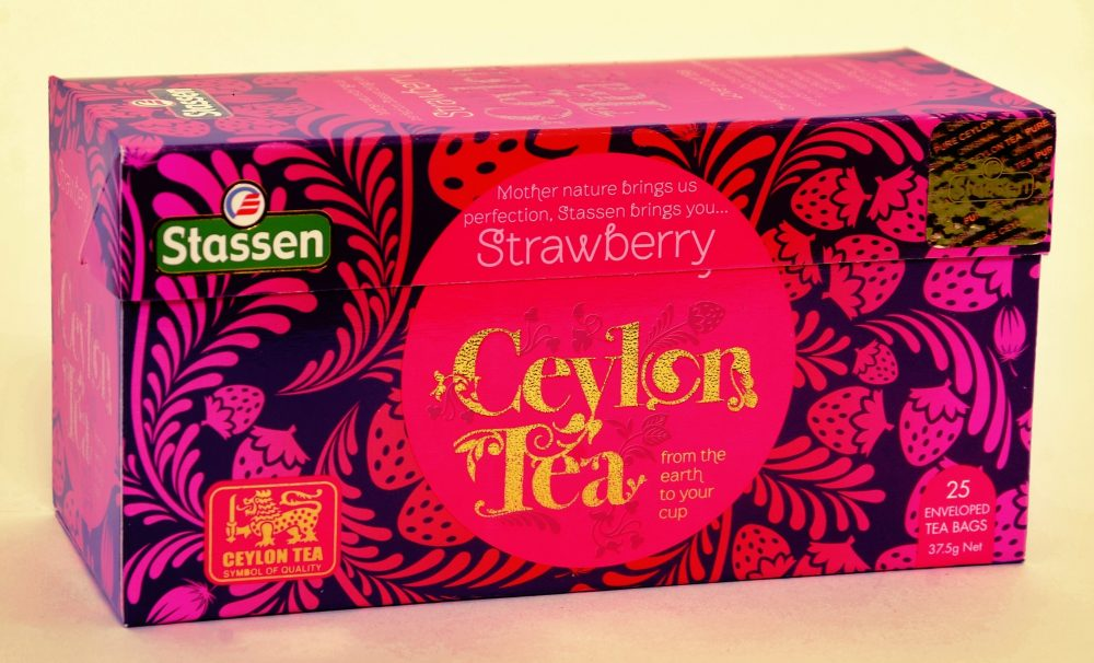 Strawberry Ceylon Tea
