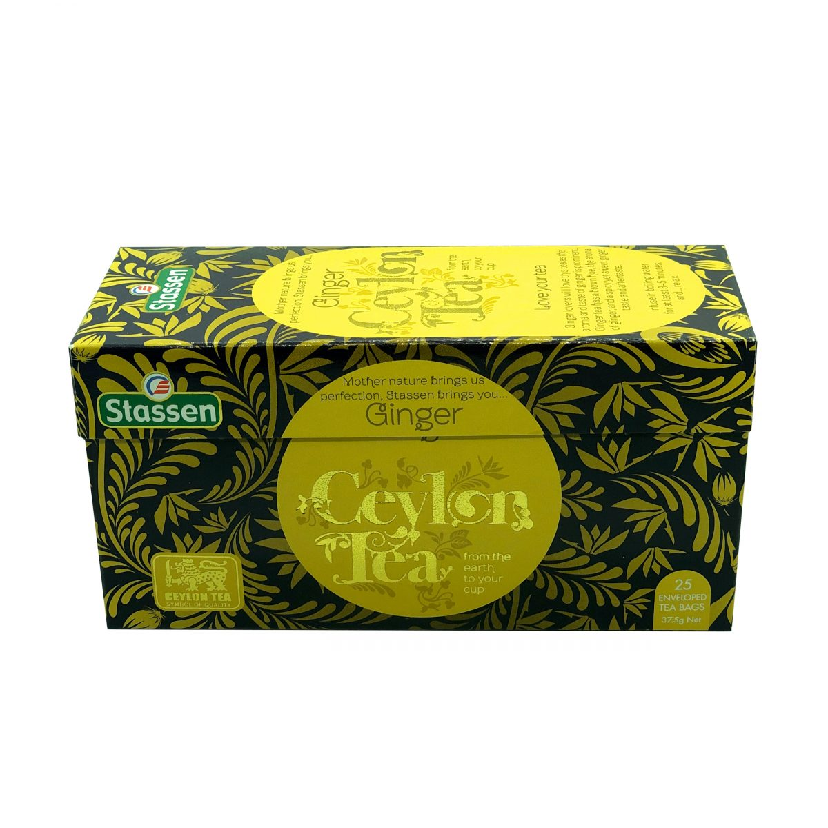 Ginger tea, Stassen