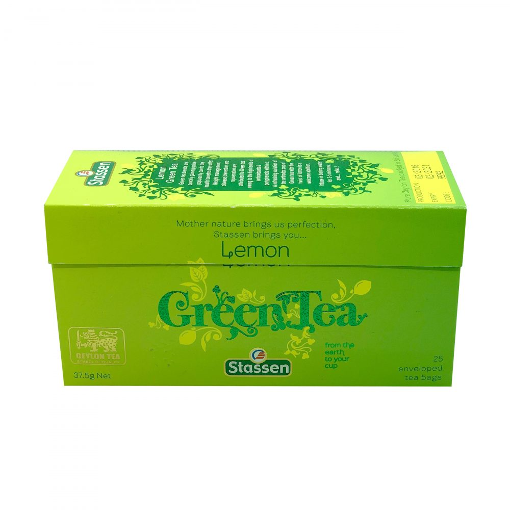 Stassen green tea lemon