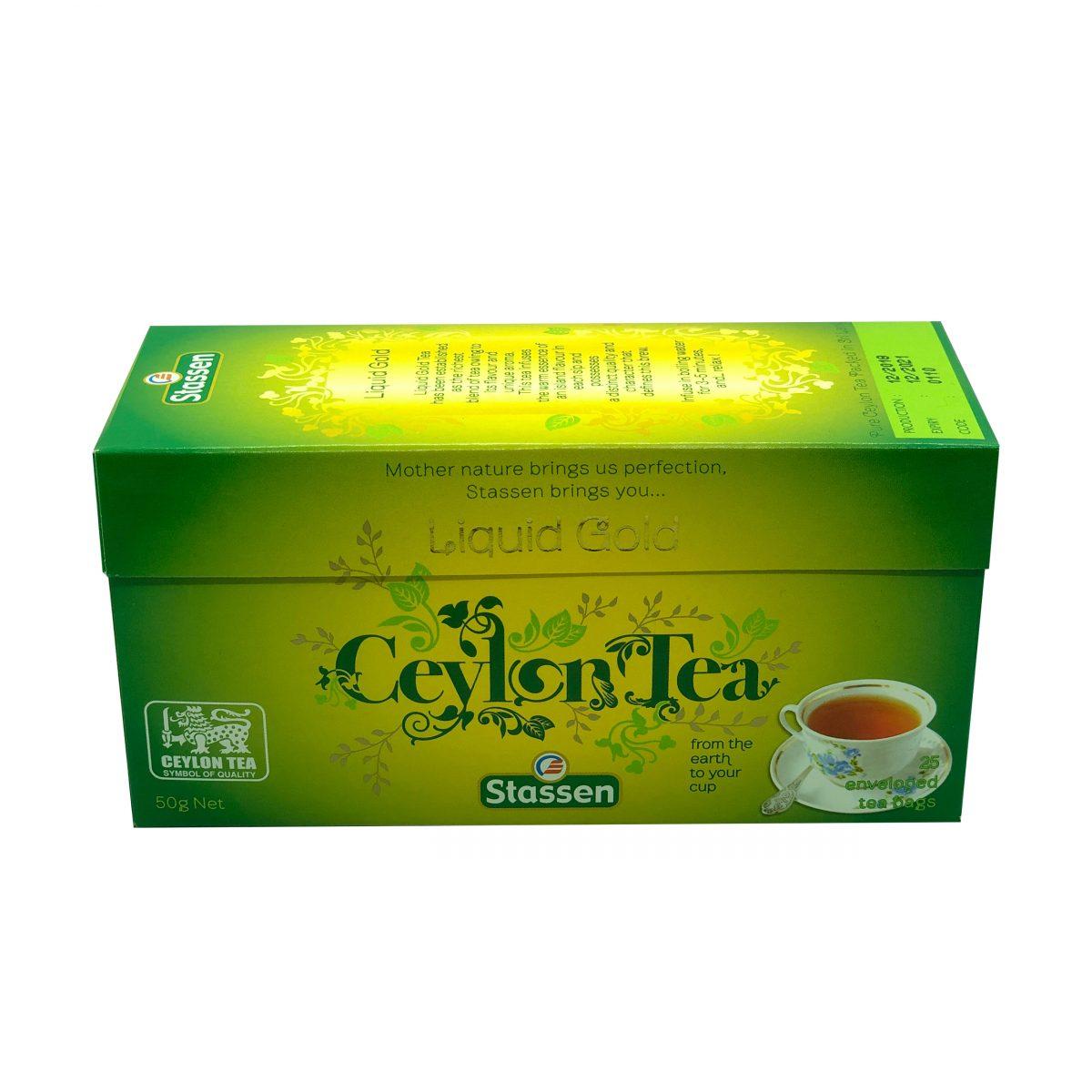 Stassen Liquid gold, pure ceylon tea