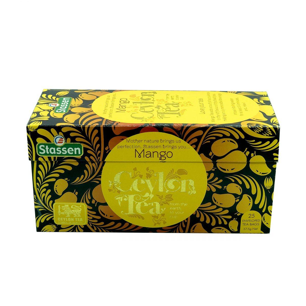 Stassen pure ceylon tea, Mango