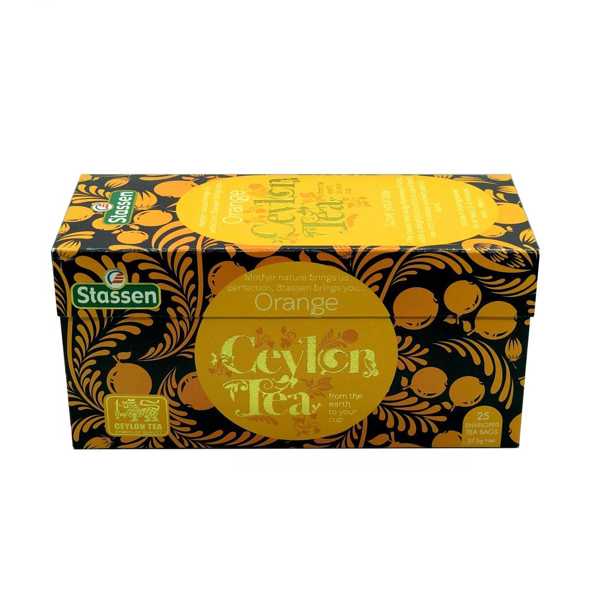 Stassen orange ceylon tea