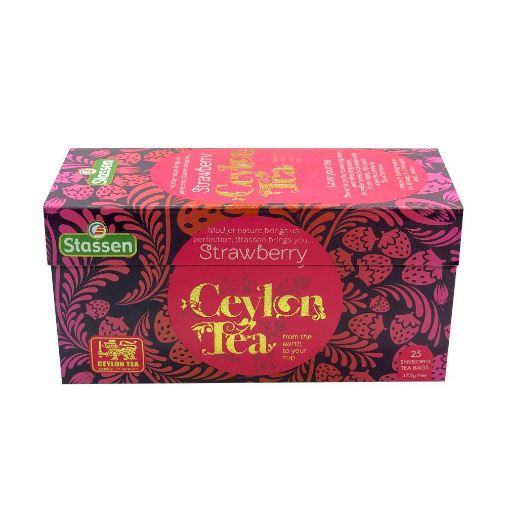 Stassen pure black tea strawberry